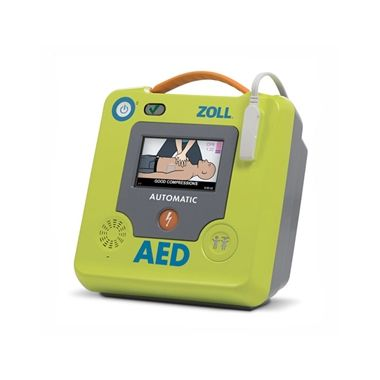 Zoll AED 3 Fully Automatic Defibrillator with Uni-padz, Battery, and 6 Year warranty