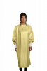 Microfiber Isolation Gown Wraparound Design LEVEL 3 Certified Fabric 99% Polyester / 1% Carbon Microfiber, 0.5cm Antistatic